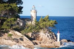 Light house Dubrovnik Croatia2 Stock Photography
