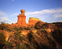 Light House Formation (H)(W)(horizontal, wide shot). The Light House formation in Texas's Palo Duro Canyon State Park stock photos