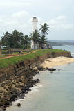 Light house in Galle. Light house on the south wall of fort  Galle, Sri Lanka Stock Photography