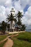 Light house in Galle Fort - Sri Lanka Stock Photography