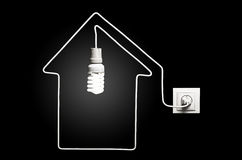 Light in the house Royalty Free Stock Photography