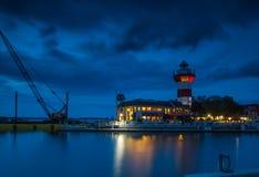 Light House at Hilton Head Island. Enjoy the night view of Light House at Hilton Head  Island, South Carolina Royalty Free Stock Photo