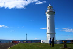 Light house at Kiama Stock Image