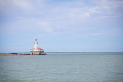 Light house. On Lake Michigan Chicago Stock Images