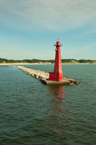 Light House, Muskegon, Michigan Royalty Free Stock Photo