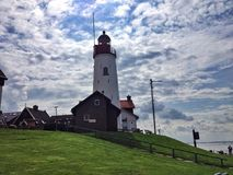 Light house in Netherlands. Dutch shots pics Stock Image