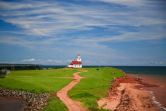 Light House at PEI Royalty Free Stock Photos