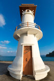 Light house and Pier on Ko Chang Island, Thailand Stock Images