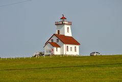 Light House, Prince Edward Island Royalty Free Stock Photos