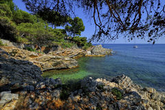Light House, Punta de Capdpera, Majorca, Spain Stock Image