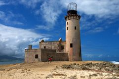 Light house ruins Royalty Free Stock Photo