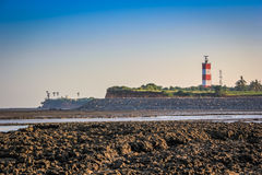 Light House Seashore Stock Images