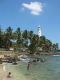 Light house Sri Lanka royalty free stock photo