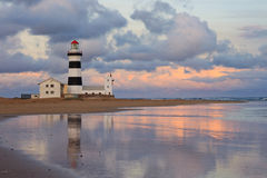 Light house sunset Royalty Free Stock Images