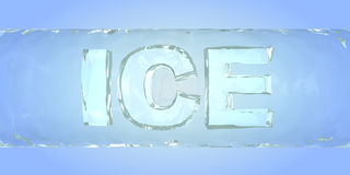 Light ice Royalty Free Stock Photo