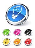Light icon Stock Photos