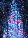 Light illuminate Christmas tree background Stock Photos
