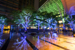 Light illustration at Roppongi Midtown complex Stock Image