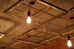 Light Installation Royalty Free Stock Images
