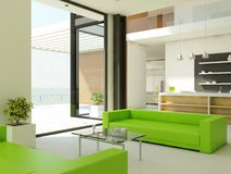 Light interior design Royalty Free Stock Photo