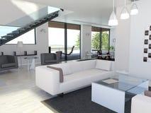 Light interior design Royalty Free Stock Image