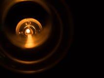 Light of kerosene oil lantern lamp burning . Stock Photos