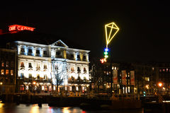 The Light Kite in Amsterdam royalty free stock photography