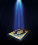 A light on the KORAN Stock Image