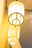 Light lamp decoration Royalty Free Stock Photography