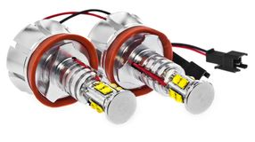 Light led bulbs for car lamps. Car led for halo rings and angel Stock Images