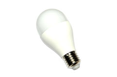 Light led saving bulb isolated on white background Stock Photo