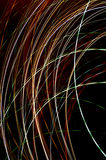 Light lines absract background Royalty Free Stock Photography