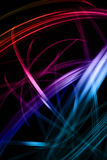 Light lines. Background with shining line, light line Royalty Free Stock Image