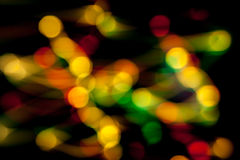 Light lines in the dark Royalty Free Stock Image