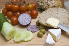 Light lunch Royalty Free Stock Photos