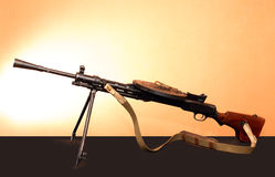 Light Machine Gun Royalty Free Stock Photography