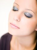 Light makeup. Royalty Free Stock Photo