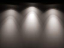 Light-map of spotlight lamps Stock Image