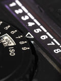 Light meter close up Stock Photography