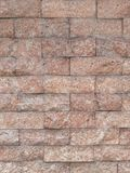 Light mild calm color seamless wall textured background with uneven harsh surface. Brick Stock Image