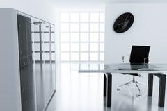 Light modern cubicle Stock Photos