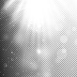 Light move effect, transparent. EPS 10 Stock Image