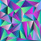 Light Multicolor, Rainbow  shining triangular template. A vague abstract illustration with gradient. Triangular pattern for. Multicolor, Rainbow  abstract mosaic Royalty Free Stock Photography