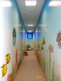 Light narrow corridor Royalty Free Stock Photos