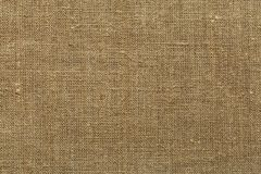 Light natural linen or flax, or canvas texture for design and background Stock Photography