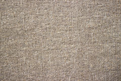 Light natural linen texture for the background. Royalty Free Stock Image