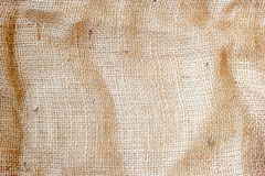Light natural linen texture for the background. Closeup Stock Photos