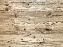 Light natural wood plank wall background, rustic or rural background. With free text space royalty free stock image