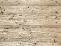 Light natural wood plank wall background, rustic or rural background. With free text space stock photography