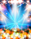 Light neon party background Royalty Free Stock Photos
